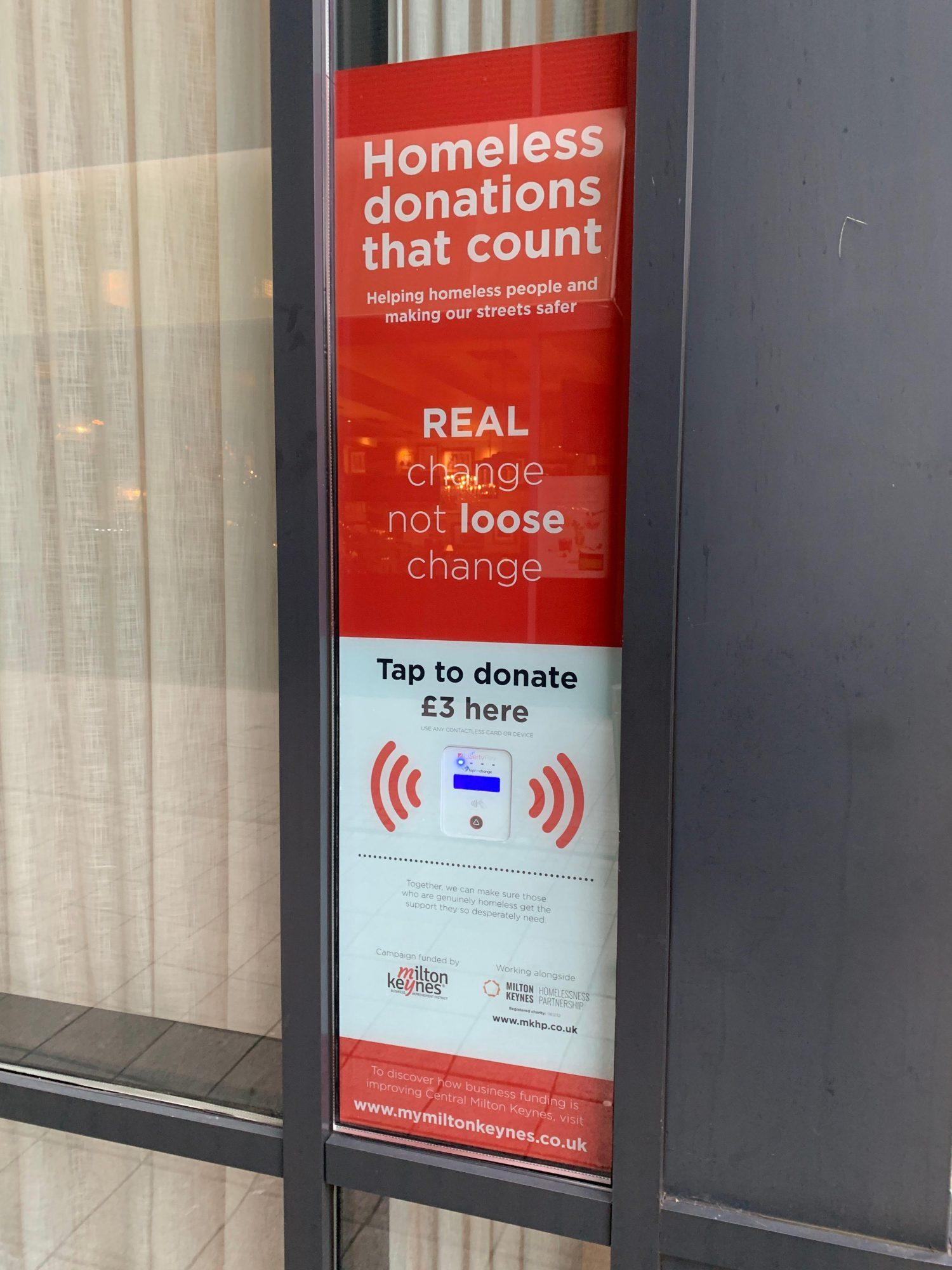 MKHP New Tap To Donate Machines